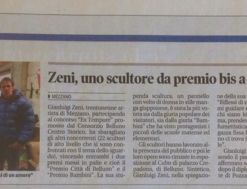 """""""Il Trentino"""" parla del mio lavoro"""