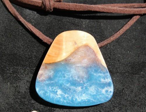Blue pendant